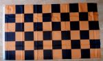 Black and Gold Checkered Large Flag - 5' x 3'.